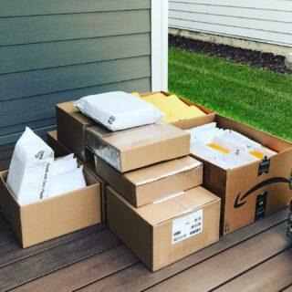 A day in the life! Today's shipment of #MotherOfAllMothers is about to take flight around the world. ✈️ 🌍 Roughly 500 bks and 250 lbs of #love! God bless the mailman on pickup duty today. Hope he feels the love more than the weight on his back. 💜🙏 • This isn't just a book, it's a movement. • Thank you to everyone who has helped us get this #book to every #grieving heart. • • #gift #giftbook #writersofinstagram #authorsofinstagram #grief #loss #childloss #loveneverdies #saytheirnames #abedformyheart #motherofallmothersbook #hospitals • • Have a favorite NICU, hospital, or nonprofit you'd like to donate the book to? We offer Bulk Discount orders on 24+ books. Link to store in bio. ABedForMyHeart.com/shop/ • •