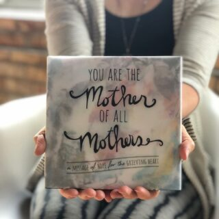 "You asked, we listened. ""You Are the Mother of All Mothers"" is now on Amazon. Please help us by sharing the link + let us know how the book has touched you. Link in bio. Amazon.com/shops/motherofallmothers  • ""This book is breathtakingly beautiful. When I first picked up the book I wasn't expecting it to touch me so much since I am 8 years out from Christian dying. But I was a little lost for words with the comfort it gave me. If you're looking for a gift of comfort for a bereaved mother, this is a beautiful book."" — Carly Marie Dudley • THANK YOU to every mom, dad, friend, family member, social worker, therapist, nurse, doctor, teacher, person, hospital, church, grief center and non-profit that has helped us get this book to every aching heart. We couldn't do it without you! • It's more than just a book, it's a movement.  • To date this book has comforted the hearts of over 40,000 #grieving #moms around the world. It's become a trusted resource for grieving moms, therapists, #hospital #bereavement programs, churches, non-profits, grief centers and yoga studios worldwide.  • We're on a mission to make #compassionate #grief #support the norm.  • #gift #giftbook #grievingmoms #loss #childloss #grievingparents #saytheirnames #abedformyheart #loveneverdies #love #sacredstrength #whathealsyou #hope #motherofallmothers #motherofallmothersbook  📷 © 2019 Angela Miller // A Bed For My Heart — It takes a village. Join ours. ABedForMyHeart.com"