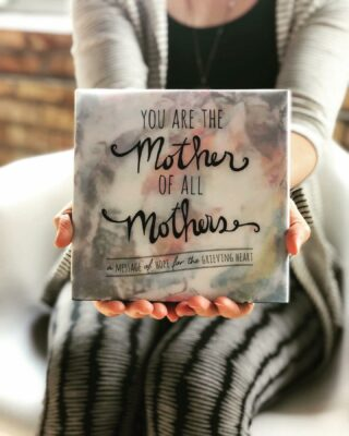 ": : : G I V E A W A Y : : : The 11th edition of ""You Are the Mother of All Mothers"" is now in stock and it's more beautiful than ever. We're giving away 10 COPIES of this gorgeous book to one lucky winner! (U.S. entries only. $220 value.) To enter, TAG A FRIEND + tell us how #MotherOfAllMothers has impacted you or someone you know + where you first saw the book + what you'd do with the 10 books if you win. We'd also love to know who you're missing today + anything else you'd like to share. 🧡 • • ""This book is breathtakingly beautiful. When I first picked up the book I wasn't expecting it to touch me so much since I am 8 years out from Christian dying. But I was a little lost for words with the comfort it gave me. If you're looking for a gift of comfort for a bereaved mother, this is a beautiful book."" — Carly Marie Dudley • • #giveaway #authorsofinstagram #writersofinstagram #grief #loss #childloss #abedformyheart #gift #book #giftbook #hope #moms #grievingmoms #mothering #loveneverdies #saytheirnames #motherofallmothersbook • • Have a favorite NICU, hospital, or nonprofit you'd like to donate the book to? We offer Bulk Discount orders on 24+ books. Link to store in bio. ABedForMyHeart.com/shop/ • •"